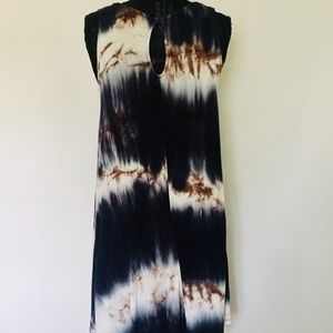 Rolla Coster Dresses - Casual mid length tie dye sleeveless dress med